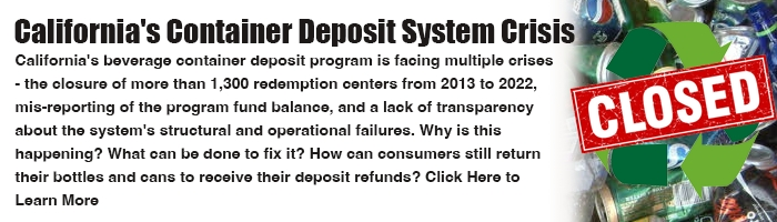 California Recycling Center Closures